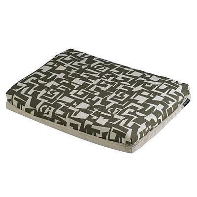 Crypton Super Fabric Modern Futon Charcoal, Xlarge