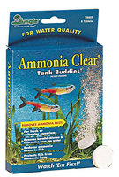 Tetra TB605W Ammonia Clear Tank Buddies, 8 Count