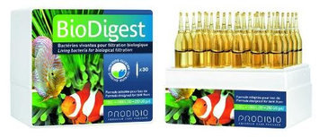 Prodibio Bio Digest - Fresh and Salt Water 30/1 mL vials - for tanks from 30 to 250 gal