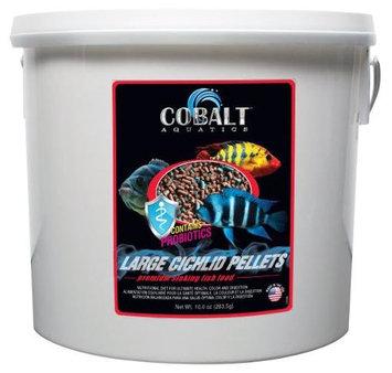 Cobalt 8-Pound Cichlid Fish Food Pellets, Large
