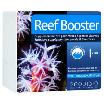 Prodibio Reef Booster - Saltwater, 30/1 mL vials - for tanks from 30 to 250 gal