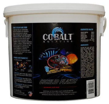 Cobalt Aquatics Cichlid Flakes, 2-Pound