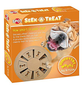 Ethical Dog 5785 Seek-A-Treat Discovery Wheel Puzzle