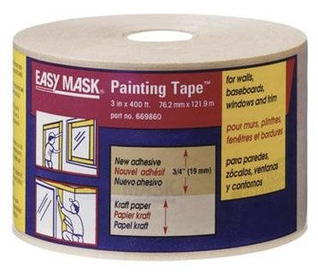 Trimaco 3in. X 180ft. Easy Mask Painting Tape 329400