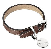 Hennessy & Sons Saffiano / Hand Made Leather Dog Collar