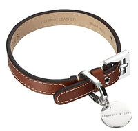 Hennessy & Sons Royal Handmade British Saddle Leather Dog Collar