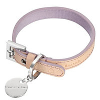 Hennessy & Sons Natural LV Handmade Vegetable Leather Dog Collar