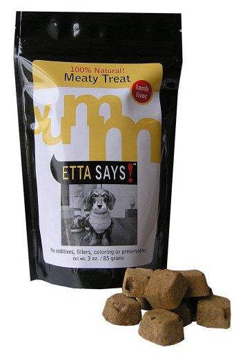 Etta Says Inc. Etta Says Freeze Dried Dog Treat Lamb Liver