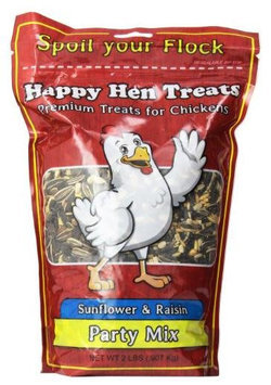 Happy Hen Treats, Party Mix Sunflower and Raisin