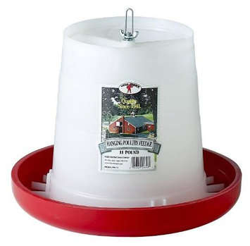 Little Giant, Plastic Hanging Poultry Feeder
