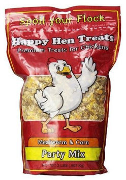 Happy Hen Treats, Party Mix Mealworm and Corn