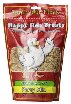 Happy Hen Treats, Party Mix Mealworm and Oats