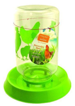 Lixit Corporation, Jumbo Chicken Feeder and Water Fountain
