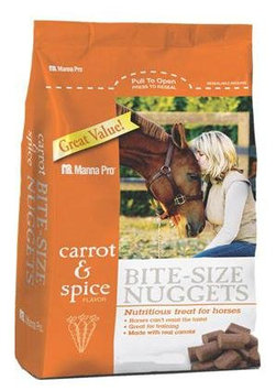 Manna Pro, Carrot and Spice Horse Treat