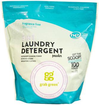 GrabGreen 3 - In - 1 Laundry Detergent Fragrance Free 100 Loads
