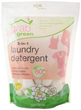 GrabGreen 3-in-1 Laundry Detergent 60 Loads Gardenia - 60 Pods