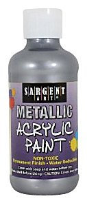 Sargent Art 8 oz. Metallic Acrylic Paint