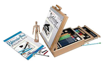 Royal Brush Easel Artist Set - Sketching and Drawing