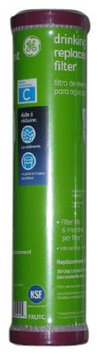 General Electric GE Single Stage Drinking Water Filtration System Replacement Filter (Chlorine, Taste and Odor)