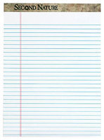 Tops Second Nature 100% Recycled 15lb Writing Pads, 8.5