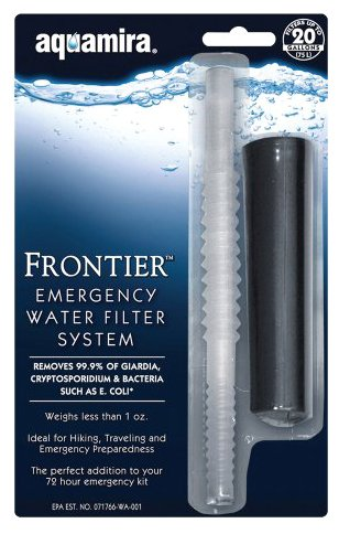 Mcnett Aquamira Frontier Emergency Water Filter System