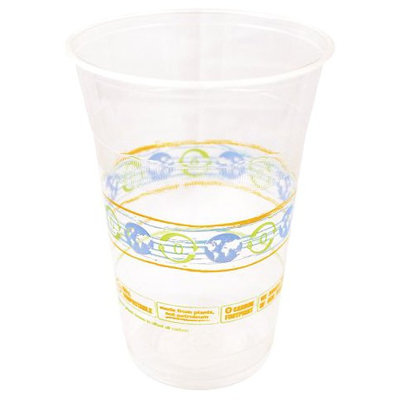 World Centric Compostable Corn Clear Cold Cup