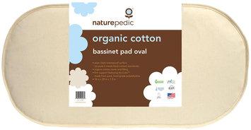 Naturepedic No Compromise Organic Cotton Oval Bassinet Mattress