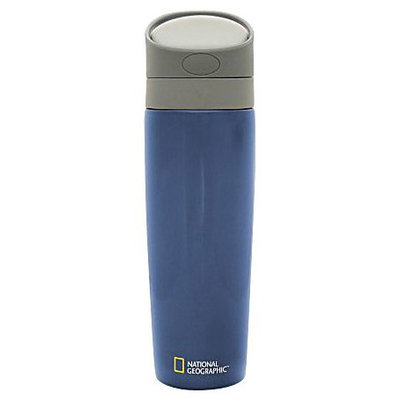 Thermor National Geographic Premium Water Bottle (Blue, 27oz)