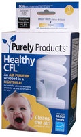 Purely Products 15W Spiral CFL Bulb, Medium Base, Soft White