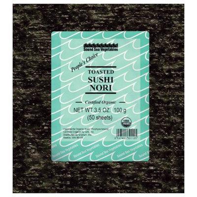 Sound Sea Vegetables Organic Toasted Sushi Nori (Bulk), 50 Sheets, .