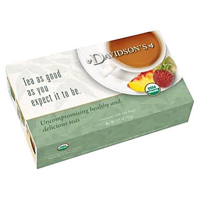 Davidson's Tea Davidson Organic Tea 173 Red Vanilla Tea Box of 100 Tea Bags