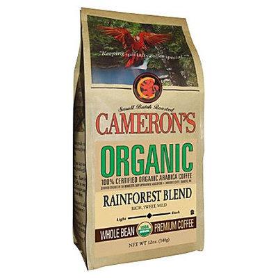 Cameron's Organic Ground Coffee, Rainforest Blend, 12oz