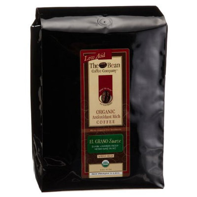 The Bean Coffee Company, El Grano Suave (Columbian Excelso Medium Roast) Whole Bean, Decaf, 5lb Bags