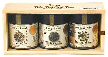 The Tao of Tea green tea Sampler, 3ct Can