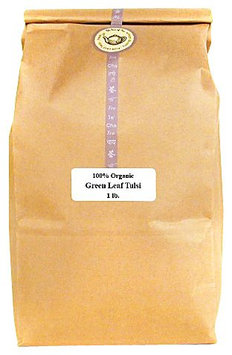 The Tao of Tea Green Leaf Tulsi, 100% Organic Tulsi, 1lb