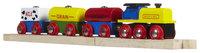 Bigjigs Wooden Complete 4-Piece Train Set (Cereal Train)
