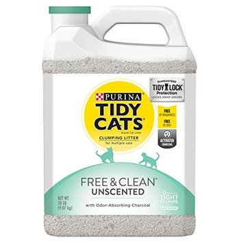 Tidy Cats Clumping Free & Clean™ Unscented Cat Litter