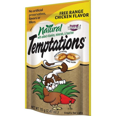 TEMPTATIONS™ Natural Free Range Chicken Cat Treats