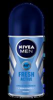 NIVEA for Men Fresh Active Roll-on Deodorant