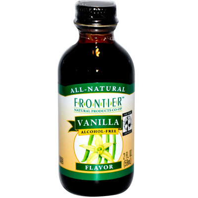 Frontier Natural Products Vanilla Extract, Fair-Trade, 16-Ounce