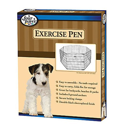 Four Paws Lightweight Pen - Black Powder Coated