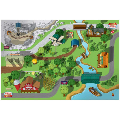 Fisher Price Fisher-Price Thomas & Friends Wooden Railroad Island Playboard