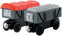 Fisher Price Fisher-Price Thomas & Friends Wooden Railway Giggling Troublesome Trucks 2-Pack - 1 ct.