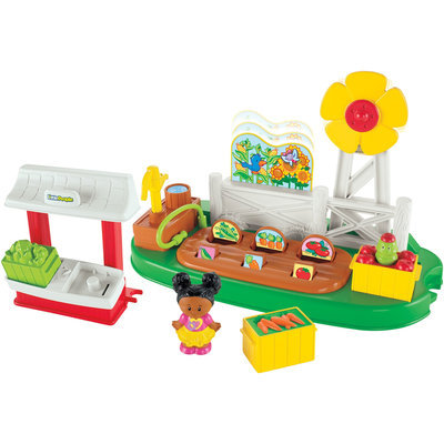 Fisher Price Fisher-Price Little People Growing Garden & Farm Stand