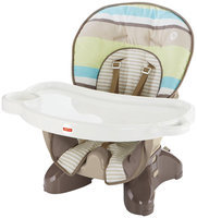 Fisher Price SpaceSaver High Chair - Green Stripes