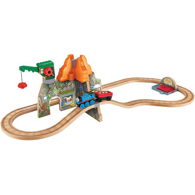 Fisher Price Thomas & Friends Wooden Railway Volcano Park Deluxe Set - 1 ct.