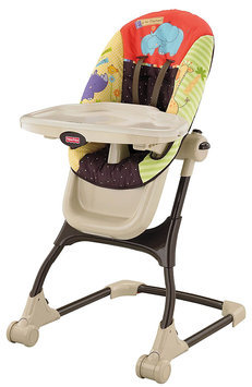 Fisher Price EZ Clean High Chair - Luv U Zoo