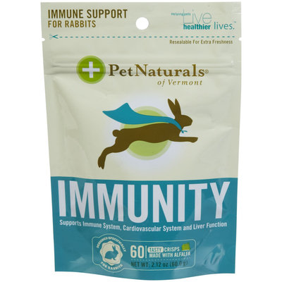 Pet Naturals of Vermont Immunity for Rabbits Crisp