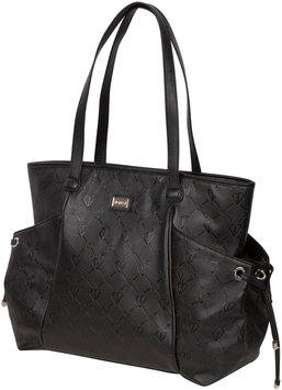 The Bumble Collection Embossed Tote - Black