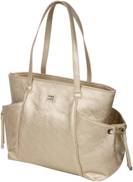 The Bumble Collection Embossed Tote - Gold